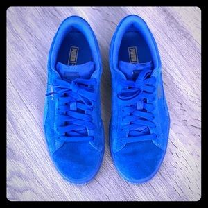 Puma Suede Classic Iced Sneakers Royal